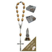 Fatima Car Statue SCBMC18 with Decade Rosary RDO28