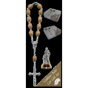 Holy Family Car Statue SCBMC19 with Decade Rosary RDO28