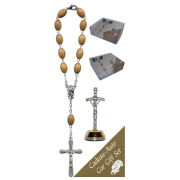 Crucifix Car Statue SCBMC20 with Decade Rosary RDO28