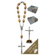 Crucifix Car Statue SCBMC23 with Decade Rosary RDO28