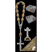 Millenium Car Statue SCBMC26 with Decade Rosary RDO28