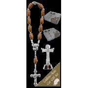 Trinity Car Statue SCBMC27 with Decade Rosary RD164-1
