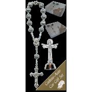 Trinity Car Statue SCBMC27 with Decade Rosary RD1480S