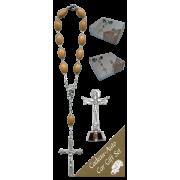 Trinity Car Statue SCBMC27 with Decade Rosary RDO28