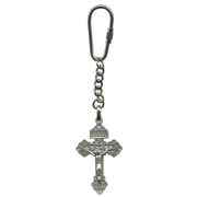 Keychain with a cross