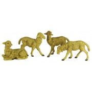 4 pc Sheep Set for Nativities