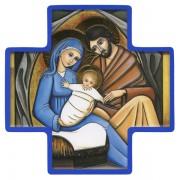 Holy Family Wood Cross