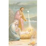 Nativity Holy Card