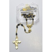Moonstone Rosary Gold Plated + Boxed