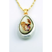 Communion Pendent Boy + Chain