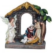 Polyresin Nativity 20cm -8""