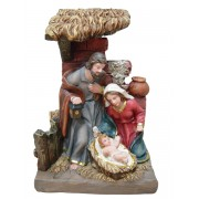 Polyresin Nativity Set cm.17 - 7""