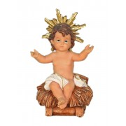 "Polyresin Baby Jesus 15cm - 6"""
