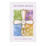 Remembrance of First Holy Communion Book Symbol Paperback