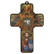 "Confirmation Wood Laminated Cross cm.13x9 - 5""x 31/2"""