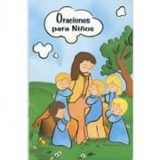 "Prayers for Children Book Spanish Text cm.9.5x14 - 3 3/4""x 5 1/2"""