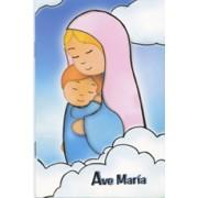 "Hail Mary Prayer Book Spanish Text cm.9.5x14 - 3 3/4""x 5 1/2"""