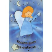 "The Rosary for Children Book French Text cm.9.5x14 - 3 3/4""x 5 1/2"""