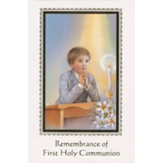 Remembrance of First Holy Communion Book Boy