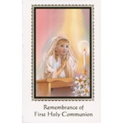 Remembrance of First Holy Communion Book Girl