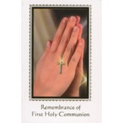 Remembrance of First Holy Communion Book Symbol Chalice