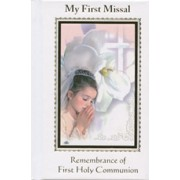 Communion- My First Missal Book Girl