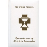 Communion- Children Missal Book Symbol Chalice White