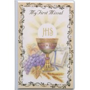 Communion- My First Missal Book Symbol Chalice