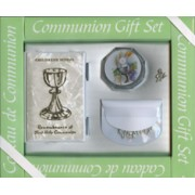 Deluxe Communion Gift Set Symbol Chalice